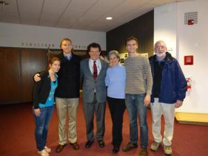 "Me and other members of the Maryland Rescue and Restore Coalition with Nicholas Kristof, Pulitzer Prize winning NY TIMES Journalist and co-author of ""Half the Sky."" Such an honor to meet this man--- he's incredibly humble for being such a powerful force in bringing awareness to the issue of human trafficking and exploitation throughout the world."