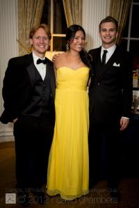 Me with founder of Urban Light, Alezandra Russell, and Urban Light board member and Stephen Warner at 2012's Capital City Ball Fundraiser to fight human trafficking.