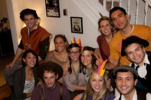 Some of the best people I know! We dress up for Thanksgiving.