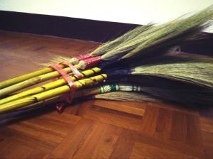 My bundle of brooms.