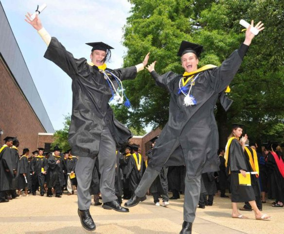 Graduation- photo by Kanji Takeno