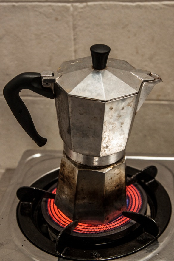 Moka Pot--- my Italian Coffee Maker.