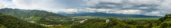 Panoramic view from Wat Thaton. Amazing stuff!