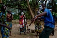 During our safari, we had the opportunity to participate in a HeiHei tribal drum circle.