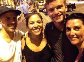 Urban Light crew reunites in Baltimore just a few weeks from Thailand take 2. Wonderful to see Marissa after two years =)