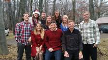 All 10 cousins together during Christmas. I have the BEST family in the world and for all of us to be together was truly special. Darryl made the trip home for X-mas and New Years =)