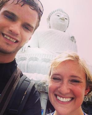 Big Buddha in Phuket. It was really... BIG!