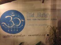 My favourite restaurant in Chiang Mai giving me ad space on their wall. AMAZING people at Andaman's Organic Kitchen.